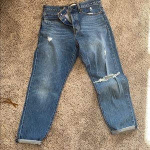 NWOT Levi's Wedgie Jean size 30